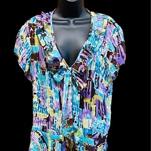 Allison Taylor Blouse Size XL